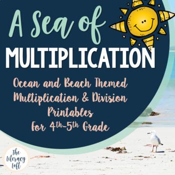 Multiplication & Division {Ocean-Themed}