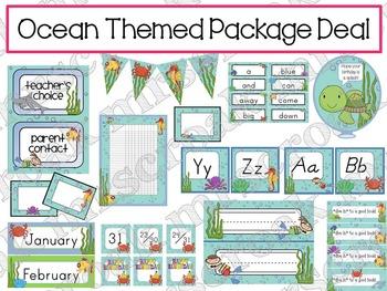 Package Deal: Ocean Themed