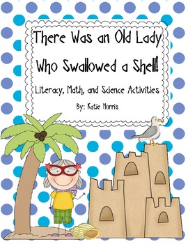 Ocean-There Was an Old Lady Who Swallowed a Shell! Book Ac