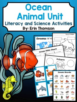 Ocean Unit ~ Literacy and Science Activities