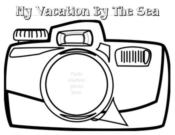 Ocean Unit: My Vacation By The Sea Book
