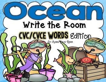 Ocean Write the Room - CVC/CVCE Edition