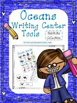 Oceans Writing Center Tools: Habitat Words