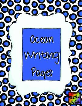 Ocean Rebus Writing Plus More