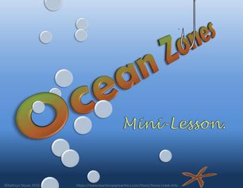 Ocean Zones Mini Lesson