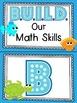 Ocean themed B.U.I.L.D. Math Centers Organization & Rotati