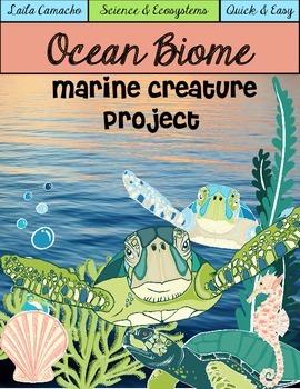 Ocean Animals Marine Creature Project