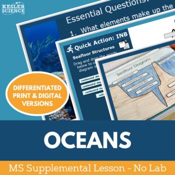 Oceans - Supplemental Lesson - No Lab
