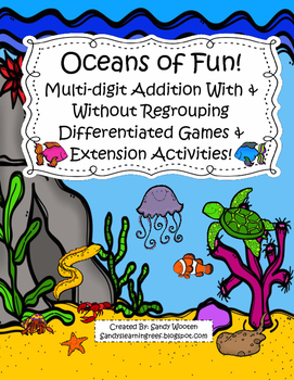 Oceans of Fun Differentiated Addition With and Without Reg