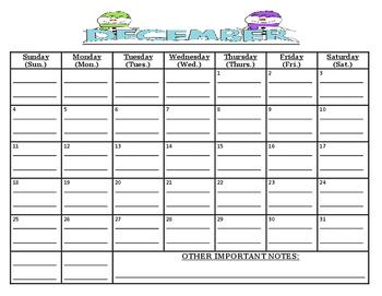 WHITE COPY: READY TO GO-BUNDLED, 9 month calendar 10/16-6/