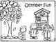 October 2016 Kids Calendar