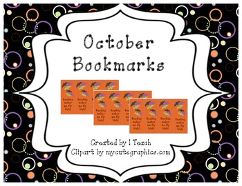 October Bookmarks