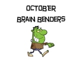 October Brain Benders