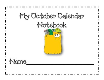 October Calendar Journal Pages