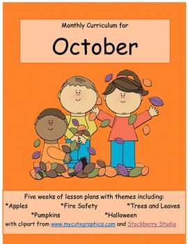 October Curriculum