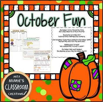 October Fun Packet
