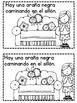 October-Halloween Emergent Readers in Spanish