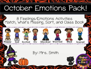 October/Halloween Emotions Pack!