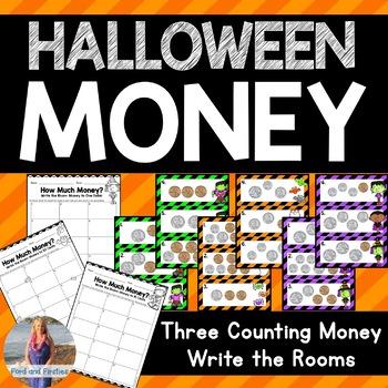 October/Halloween Money Write the Rooms!