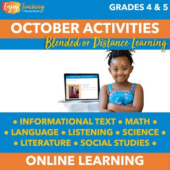 October Independent Learning Module (ILM) - Fourth Grade -