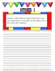 October Journal Prompts Printable Notebook Common Core W.1