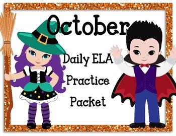 October Language Activities