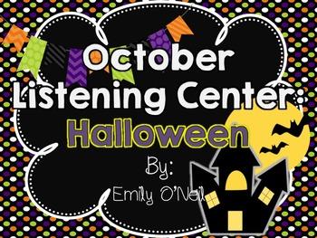 October Listening Center - Halloween