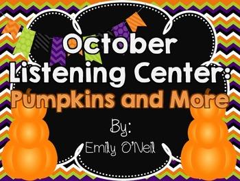 October Listening Center - Pumpkins and More