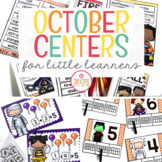 October Literacy Centers and Math Centers