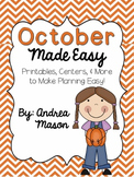 October Made Easy!