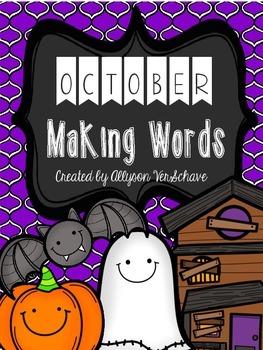 October Making Words