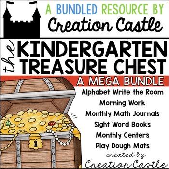 Kindergarten Treasure Chest MEGA Bundle