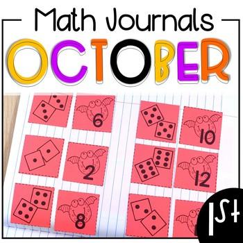 October Math Journals {First Grade}