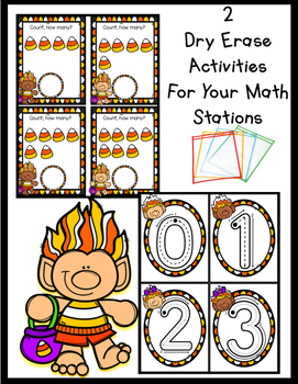 October Write and Wipe Numbers