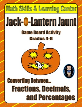 Halloween Math Skills & Learning Center (Fractions-Decimal