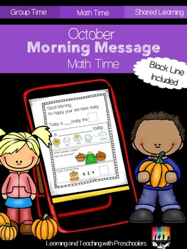 October Morning Message Math Time
