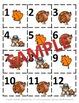 October &  November Calendar Pieces