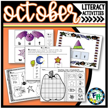 Phonics & Reading Fun for October (PreK, Kinder)