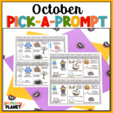 Writing Prompts for Reluctant Writers: October Pick a Prompt!