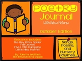 October Poetry with Rebus Pictures