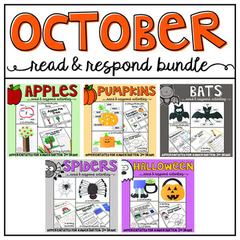 October: Read and Respond BUNDLE