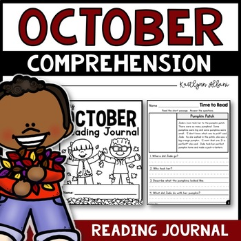 October Reading Comprehension Passages - Journal