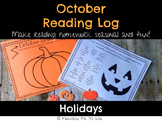 October Reading Log