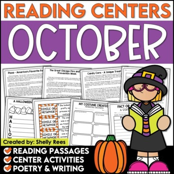 Reading Comprehension Passages - October Reading Unit