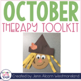 October Theme Therapy for Speech and Language