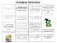 October Word Work Activities