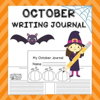October Writing Activities / October Writing Journal