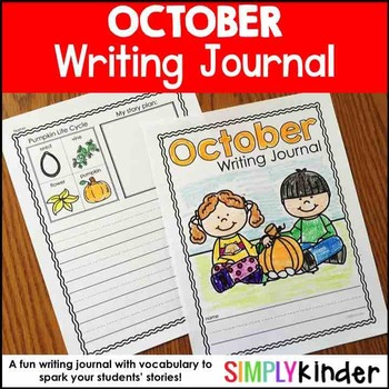 October Writing Journals