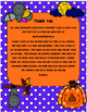 October Writing Menu with Graphic Organizers and Paper. Fr
