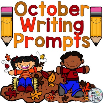 October and Halloween Writing Prompts